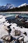 Athabasca River, Jasper Nationalpark, Alberta, Kanada