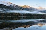Lac Summit, Central Kootenay, en Colombie-Britannique, Canada