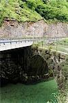 Bridge Over Cares River, Picos de Europa, Asturias, Spain