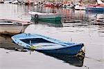 Sunken Boat, Combarro, Pontevedra Province, Galicia, Spain