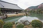Jardin de Tenryuji, Sagano, Kyoto, Japon
