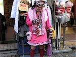 Mode de la jeune fille, Harajuku, Tokyo, Japon