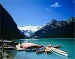 World Heritage Banff National Park Lake Louise et kayak, Canada