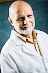 Closeup of male science teacher