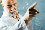 Male science teacher talking