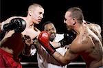 Combats des boxeurs