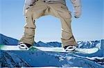 Snowboarder masculin