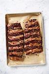Côtes levées à la plaque à gâteaux