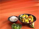 Vegtable Stir Fry with Rice