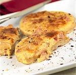Cheese and Ham muffins