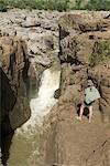 Gorges de Samalema, près de Mabalauta, Gonarezhou National Park, Zimbabwe.