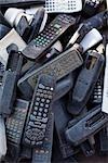 Télécommande du téléviseur cassé