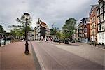 Scène de rue, Amsterdam, Pays-Bas