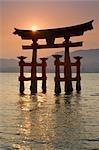 Itsukushima Torii Gate, Miyajima Island, Japan