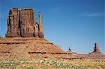 États-Unis, Arizona, Mitten Butte à Monument Valley