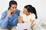 Projet de loi accordant couple sur téléphone