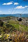 Gondola on Mt Ngongotaha, Rotorua Region, North Island, New Zealand