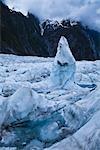 Ice Formation, Franz Josef Glacier, South Island, New Zealand