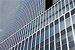 Detail der Fassade eines Wolkenkratzers
