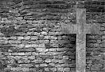 Ein Steinkreuz
