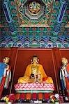 Yuan-Dynastie Gebäude weiße Dagoba Tempel, Peking, China