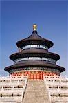 Die Halle des Gebetes für gute Ernten bei der Himmelstempel, Beijing, China