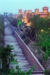 Last remaining intact Ming Dynasty city wall in China,Pingyao City,Shanxi Province,China