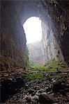 La Chine, la municipalité de Chongqing, Wulong. Site de Rock ponts patrimoine mondial naturel