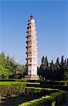 China,Yunnan province,Dali Town,One of the Three Pagodas at Chongsheng Temple