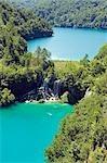 Les lacs de Plitvice Lakes National Park Turquoise et chute d'eau