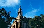 Example of Baroque architecture in Havana Viejo,Old Havana World Heritage Area,Cuba