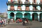 Cuba,Havana. Street Scene.