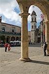 Cuba, la Havane. Plaza de la Catedral, la Havane