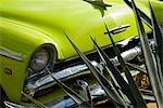 Cuba, la Havane. Vintage voitures américaines, la Havane