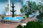 Cuba,Cienfuegos. La Union Hotel,Jose Marti Plaza