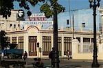 Cuba,Cienfuegos. Billboard of Che Guevara,Jose Marti Plaza,Cienfuegos