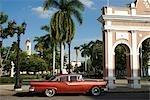 Cuba,Cienfuegos. Jose Marti Plaza,Cienfuegos