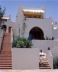 Four Seasons Resort Hotel, service de ménage collecte linge de chambre d'hôtes