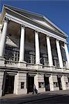 The facade of the Royal Opera House in Covent Garden