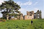 England,Shropshire,Moreton Corbet. Moreton Corbet Castle. .
