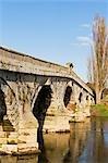 England,Shropshire,Atcham. Atcham Bridge.