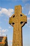Oswestry Shropshire, Angleterre. Un monument dans le cimetière de l'église.