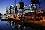 England,London. Canary Wharf.