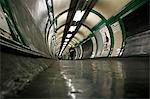 England,London. Embankment Tube Station.