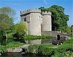 Angleterre, Shropshire, Whittington. Château de Whittington.