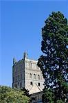Angleterre, Worchestershire, Worcester. Cathédrale de Worcester. Cathédrale anglicane à Worcester, en Angleterre ; situé sur une rive donnant sur la rivière Severn. Son nom officiel est l'église cathédrale du Christ et la Vierge Marie.