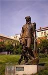 Statue of a painter outside the Prado