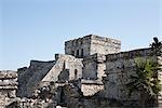 Mayan Ruins, Tulum, Yucatan Peninsula, Mexico