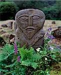 The Janus Stone, Boa Island Co Fermanagh, Ireland