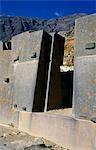 Inca stonework at Ollantaytambo